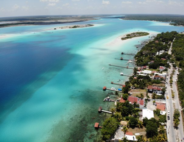 Bacalar from above